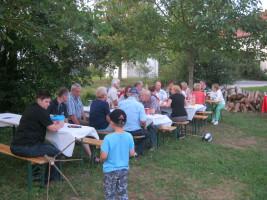 unser Grillfest 2011 auf Gut Erlasee Teil2