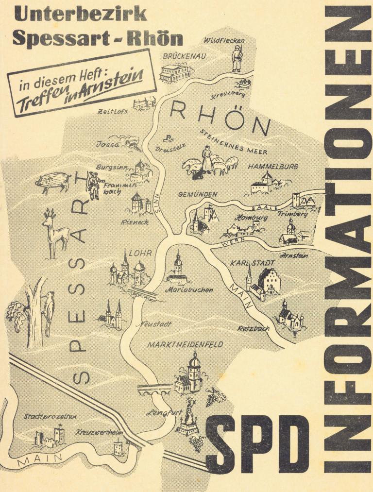 Unterbezirkstreffen 1969 in Arnstein Titelbild